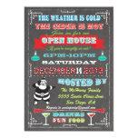 Superspaß-Tafel-Weihnachtsoffenes Haus Individuelle Einladungen