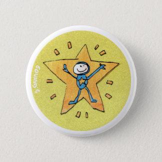 Superstar-Abzeichen Runder Button 5,7 Cm