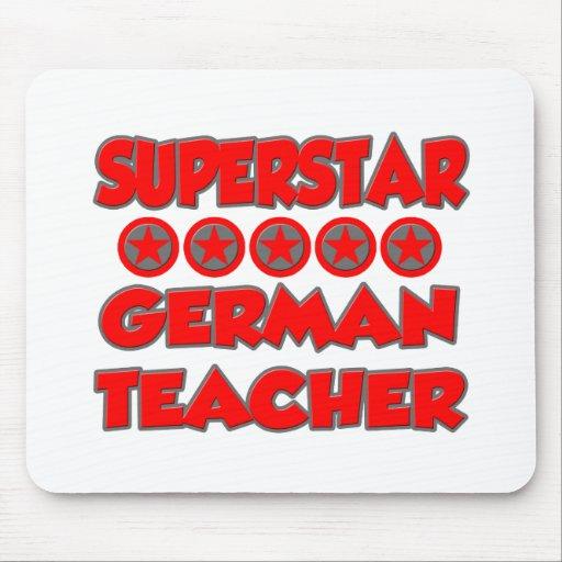 Superstar-Deutsch-Lehrer Mauspads