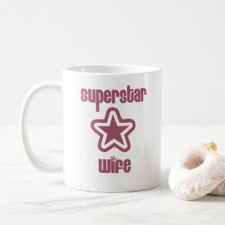 Superstar-Ehefrau-Tasse Kaffeetasse