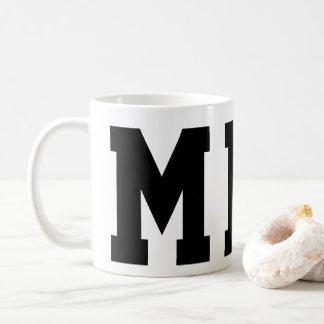 Superstar mit Monogramm Kaffeetasse