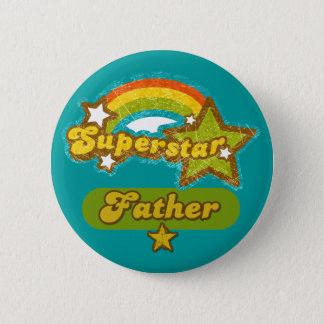 Superstar-Vater Runder Button 5,1 Cm