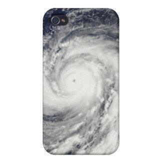 Supertaifun Choi-WAN über den Mariana Island iPhone 4 Case