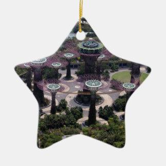 Supertree Waldung, Singapur Keramik Ornament