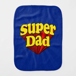 Supervati, Superheld rot/Gelb/der blaue Vatertag Spucktuch