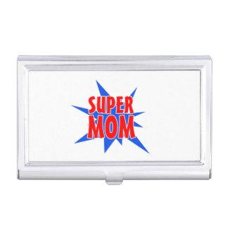 SuperVisitenkarte-Halter der mamma-Mutter Tages Visitenkarten Etui