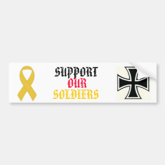 SUPPORT OUR  SOLDIERS AUTOAUFKLEBER