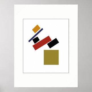 Suprematism durch Kazimir Malevich Poster