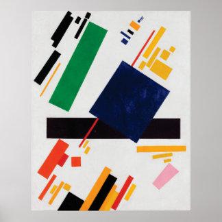 Suprematist Zusammensetzung durch Kazimir Malevich Poster
