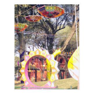 Suraj Kund Party-Baumdekorationen Festivals im Postkarte