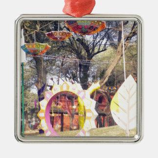 Suraj Kund Party-Baumdekorationen Festivals im Silbernes Ornament