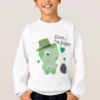 Sure… Ich bin irisch Sweatshirt