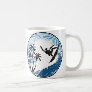 Surfen Kaffeetasse