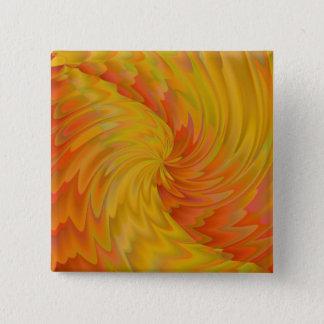 Surfen Sie den Sun Quadratischer Button 5,1 Cm