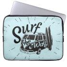 Surfen Sie die Welle Laptopschutzhülle