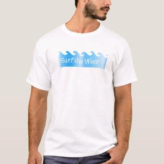 surfen Sie die Welle T-Shirt