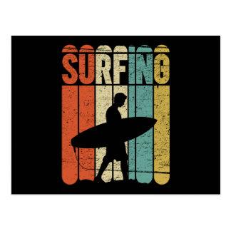 Surfen Vintag Postkarten