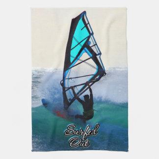 Surfen von 15 Geschirrtüchern Handtuch