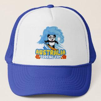 Surfender Panda Australiens Truckerkappe
