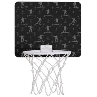 Surfendes Motiv-Muster Mini Basketball Ring