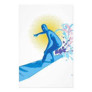 Surfer Briefpapier