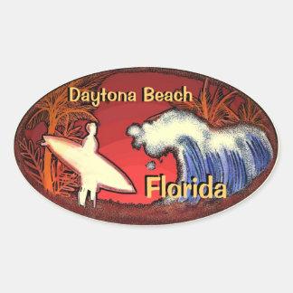 Surfer Daytona Beach Florida bewegt Aufkleber well