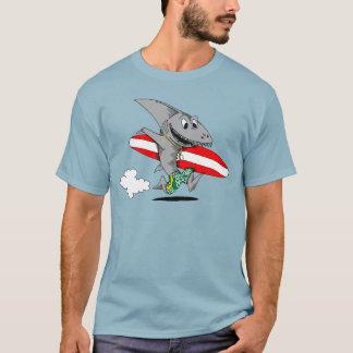 Surfer-Haifisch T-Shirt