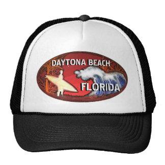 Surfer-Kunsthut Daytona Beach Florida Trucker Cap