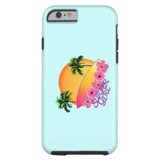 Surfer-Mädchen Tough iPhone 6 Hülle