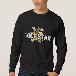 Surfer-Rockstar bis zum Nacht Sweatshirt