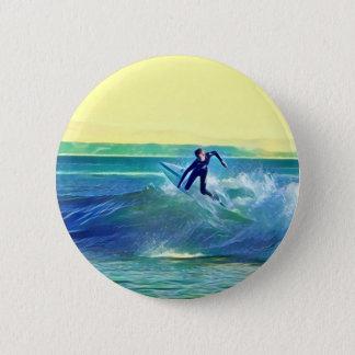 Surfer Runder Button 5,7 Cm