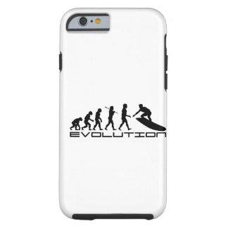 Surfer-surfende Sport-Evolutions-Kunst Tough iPhone 6 Hülle