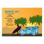 Surfer-Typ-Einladung