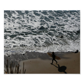 Surfer-Typ Poster