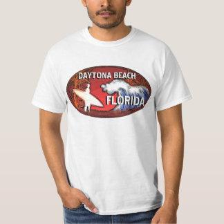 Surferkunst-Wertt-stück Daytona Beach Florida T Shirts