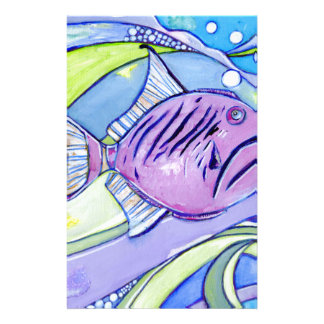Surfin Fische Briefpapier