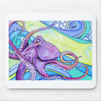 Surfin Krake Mousepad