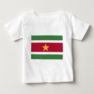 Surinam-Flagge Baby T-shirt