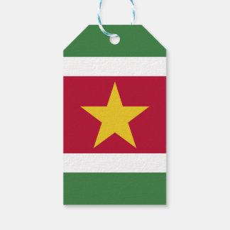 Surinam-Flagge Geschenkanhänger