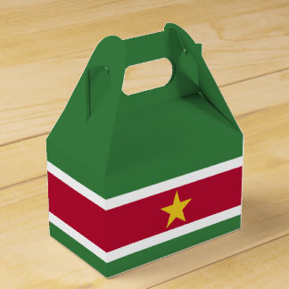 Surinam-Flagge Geschenkschachtel
