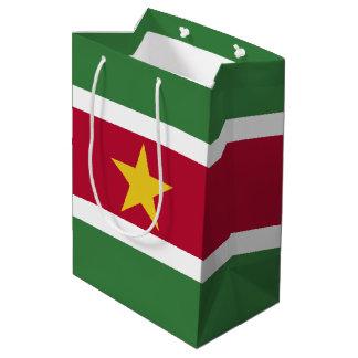 Surinam-Flagge Mittlere Geschenktüte