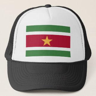 Surinam-Flagge Truckerkappe