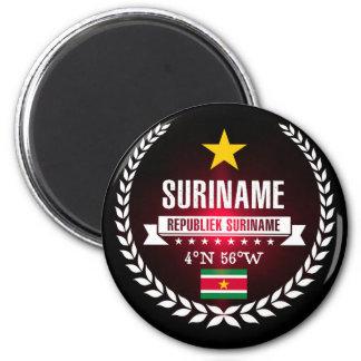 Surinam Runder Magnet 5,1 Cm