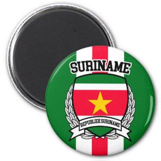 Surinam Runder Magnet 5,7 Cm