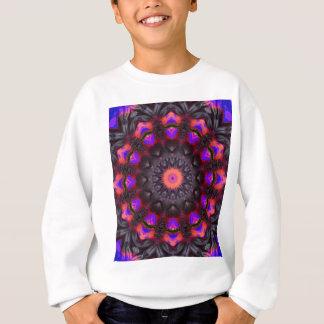 Surreal Blüten, BlumeMandala Sweatshirt