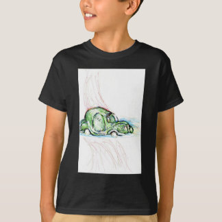 Surreal Flugzeug T-Shirt