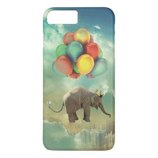Surreale Ballon-Elefant iPhone 7 Plusfall iPhone 8 Plus/7 Plus Hülle