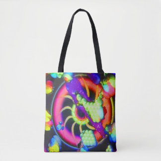 Surreale Spirale Tasche