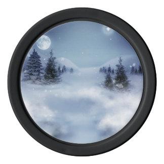Surrealer Winter Poker Chips Set