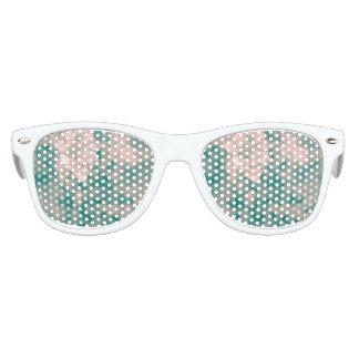 Surreales Blumen Partybrille